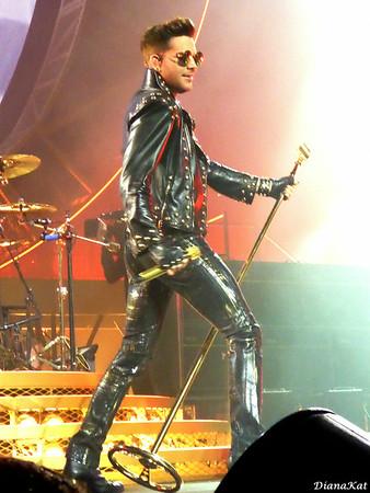 Queen and Adam Lambert  Houston 7-9-14
