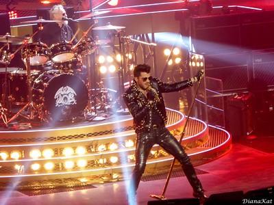 Queen and Adam Lambert Leeds UK, 1-20-15
