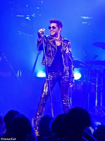 Queen and Adam Lambert San Jose 7-1-14