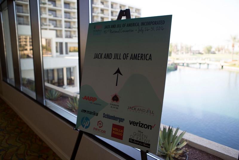 8 -  Jack & Jill Conference Signage