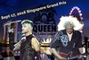 cocoo ‏@cocooyau  [QuickFlyer] Queen @adamlambert 95th performance 9.17.16 #Singapore #GrandPrix2016 @DrBrianMay @OfficialRMT