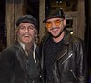💫😛💫 Adam Lambert with Nicolas Tenerani, Musical actor at Tanz der Vampire
