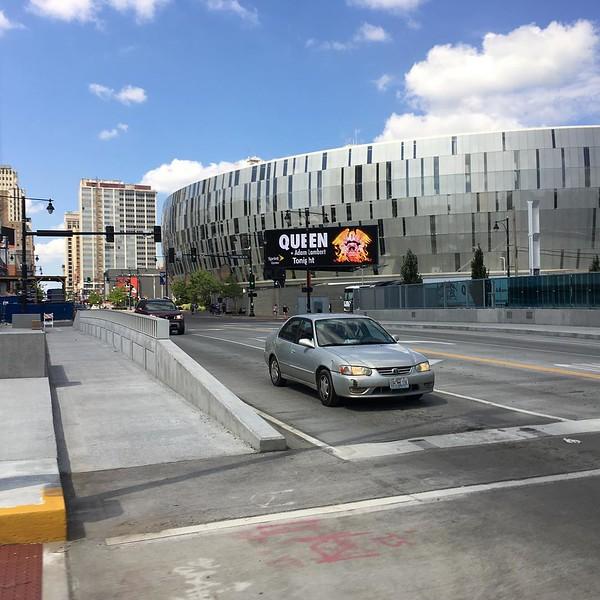 neilmfairclough  Outside the Sprint Center!!...