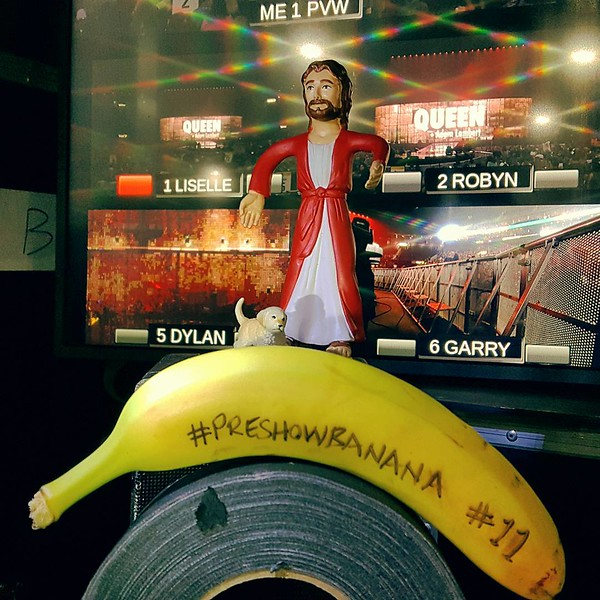🍌 Sprint Center - babyjesusfilms  #Preshowbanana #11 #QAL #Queen #AdamLambert #luckydog #luckyjesus