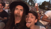 screencap 💜Joey Gray's ig story Queen + Adam Lambert at the Hollywood Bowl June 26