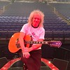 🎸 brianmayforreal  Hello Dublin !! Isn't this The Point ?!! Of course it is !! Bless ya all - come in and get warm !! No ! Get HOT ! Bri X. Photo: Justin Garrick on my iPhone !