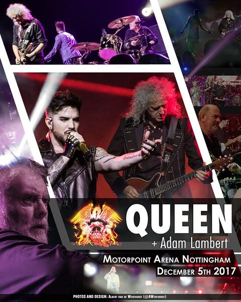 👑 UNOFFICIAL POSTER 👑 Albert vd Werfhorst  @AWerfhorst Motorpoint Arena, Nottingham UK 05.12.17  Photos: @AWerfhorst  Poster Design: @AWerfhorst