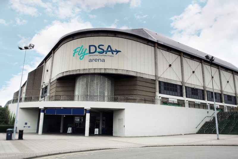 FlyDSA Arena   --  Sheffield Arena secures new naming rights deal
