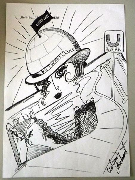 ̿ ̿'̿'\̵͇̿̿\з=(•_•)=ε/̵͇̿̿/'̿'̿ ̿    Feb 8 2012 Berlin Adams drawing