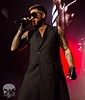 jdpunisherphotography  The man himself @adamlambert showing the Brisbane crowd his raw talent. #jdpunisher #livemusic #queen #adamlambert #bec #brisbane