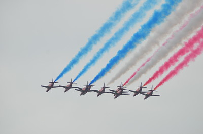 Queens' Dimaond Jubilee Flyover May 2012