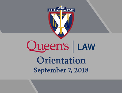 Queen's Law 2018 Orientation