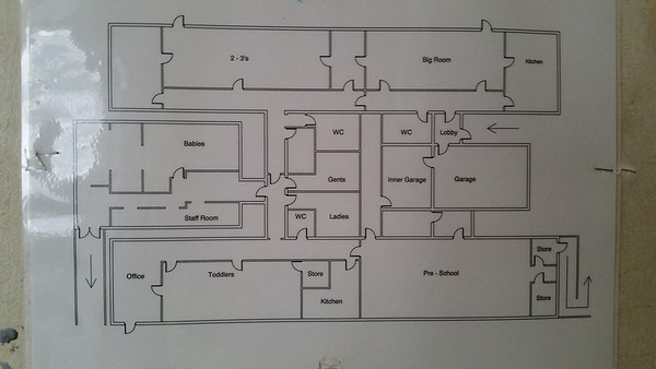 A map of the whole building