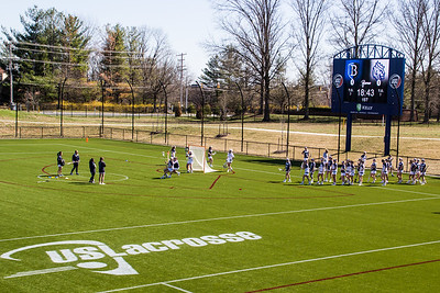 03-08-2017 Queens vs Bentley @ US Lacrosse Facility, MD