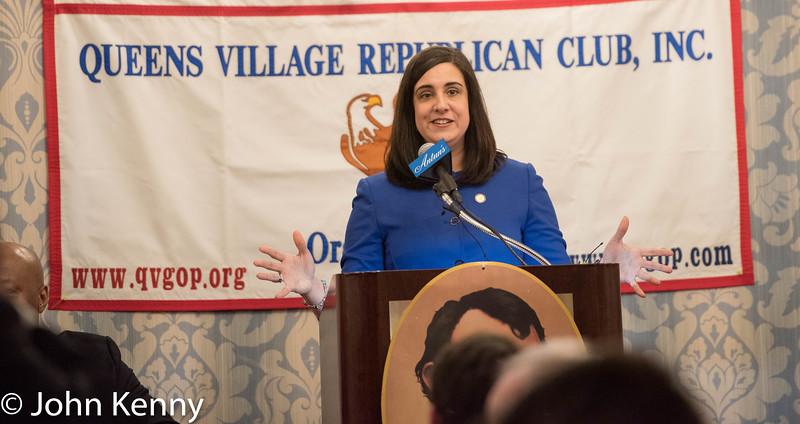 Queens Village Republican Club Lincoln Day Dinner 3/19/17