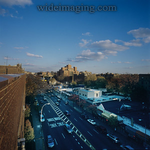 View looking NE from Northern Blvd near Bowne Street, November 2008.
