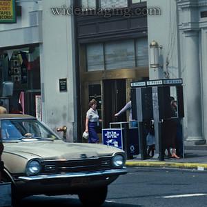 'New York Let's Clean Up New York': Main Street Flushing June 29, 1984
