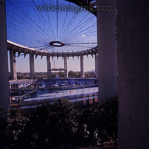 New York State Pavilion from October 15, 1977. In the center you can see OZ and other props, see detail in this gallery.