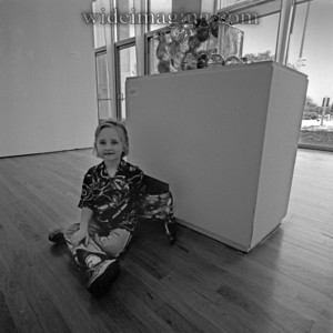 """Queens Museum """"Hearts of Glass"""" exhibit July, 2001"""