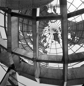 View under the Unisphere, from July 2001.