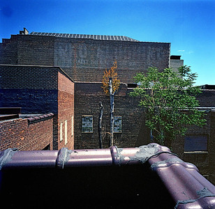 Roof top view of the RKO Keith's Theatre from June 27, 2007.