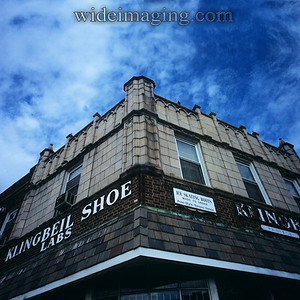 The Klingbeil shop, on Jamaica Ave. October 10, 2009. Don Klingbeil now carries on the tradition from his father.