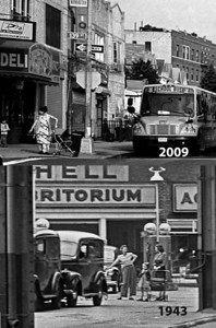 Two views of 139th Street 66 years apart