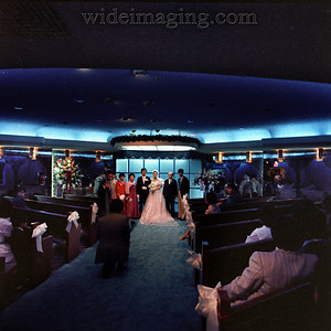 Another interior shot of the Astorian Manor showing that Star Trek atmosphere. Wedding from the Spring of 1984.