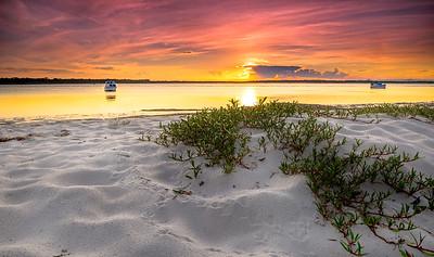 BB 02  Bribie Island Sunset 2