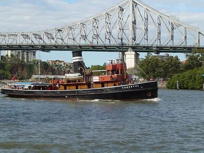 Retired Tugboat Forceful