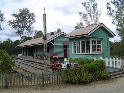 Train Station @ Petrie pioneer village