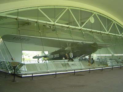 The Southern Cross, Kingsford Smith Memorial, Brisbane Airport