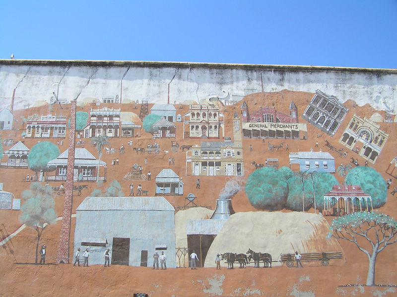 Mural on Wall of Arthur Titley Centre