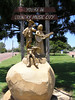Country Music Statue