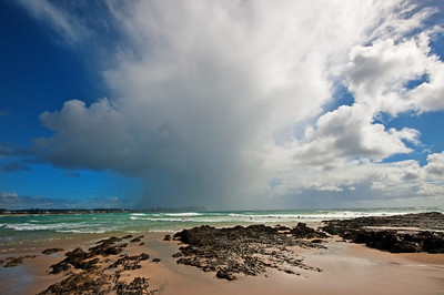 GC 01  Rain Cloud on the Beach