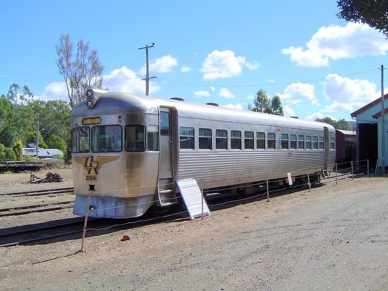 Rail Motor at Mount Morgan Train Station in 2004