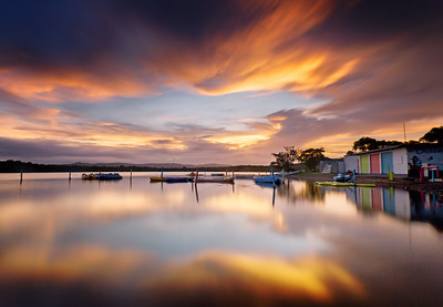 NQ 06 Causeway Lake Sunset