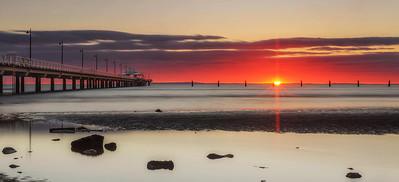 SC 03 Shorncliffe Sunrise