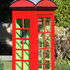 Old Phone booth at Montville
