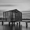 SC 35 Boat House in Black n White