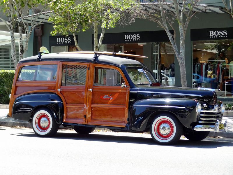 Old Car at Noosa