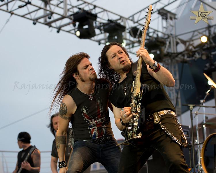 Todd La Torre and Michael Wilton