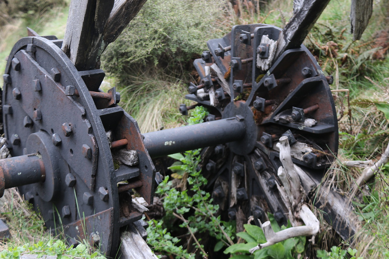 All Nations Battery Waterwheel (remains)