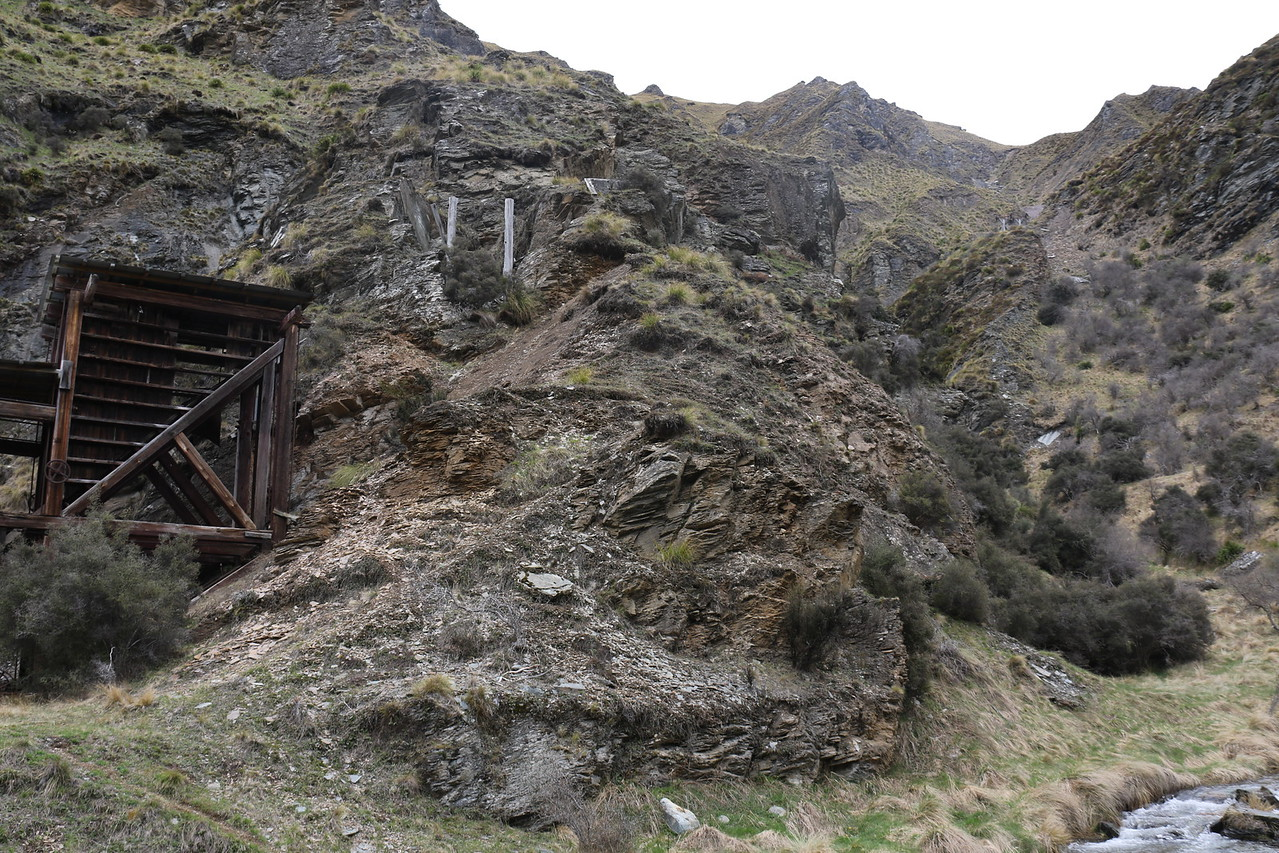 Homeward Bound Battery and remains of aerial cableway