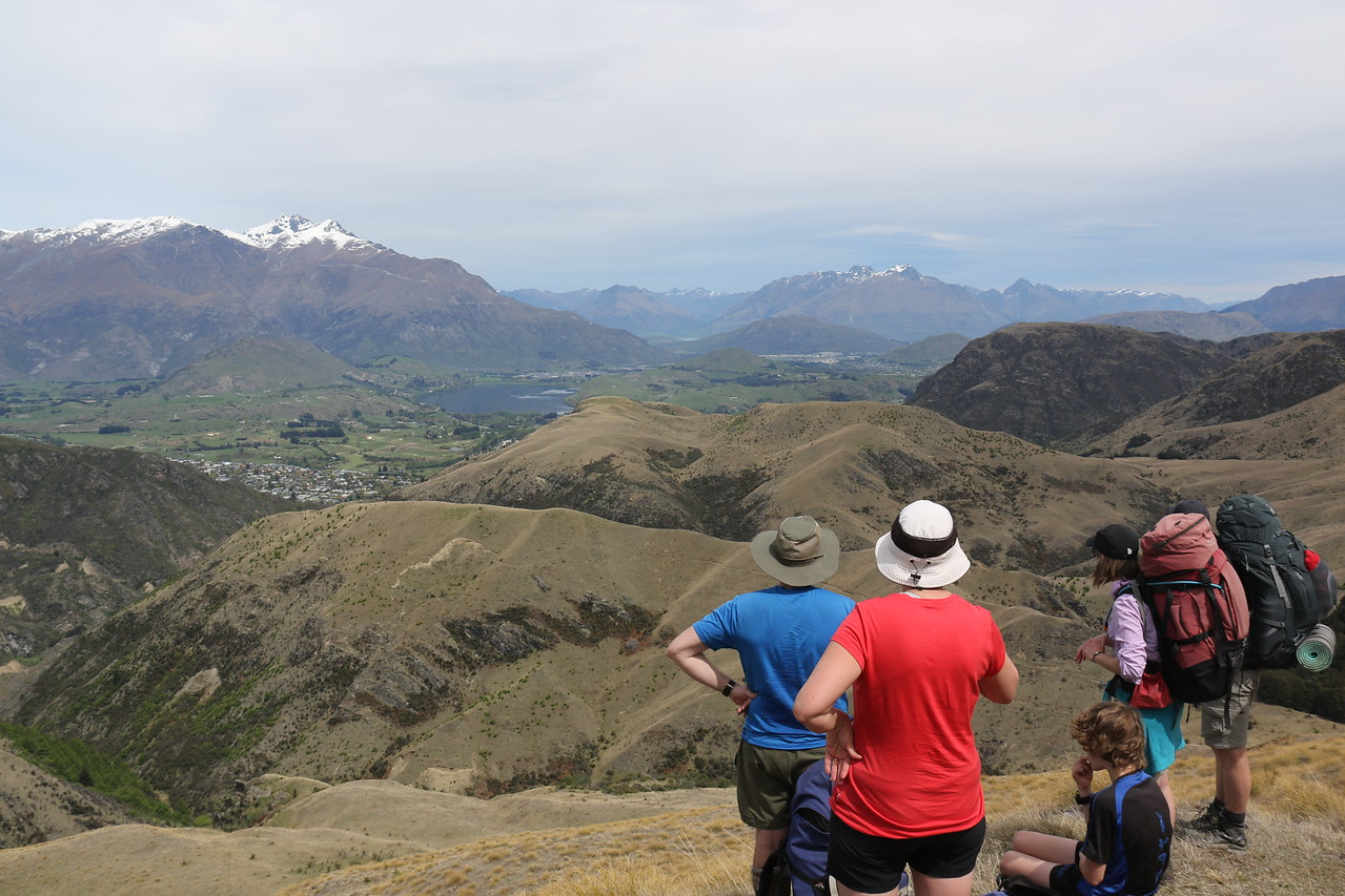 Wakatipu Basin from Big Hill Track