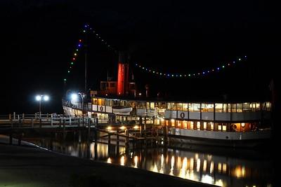 Vintage Steamship, TSS Earnslaw, Built 1912