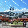 The Main Plaza Of Pinal de Amoles