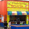 A Very Colorful Ice Cream Shop Next To The Mercado