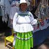 A Happy Otomi Vendor