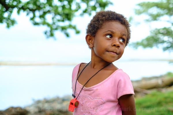 Vanuatu, Erromango, Dillon's Bay (William's Bay), Girl with Whistle